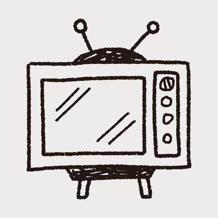 retro tv: Doodle TV