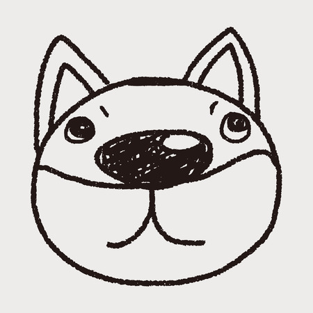 dog pen: Doodle Dog