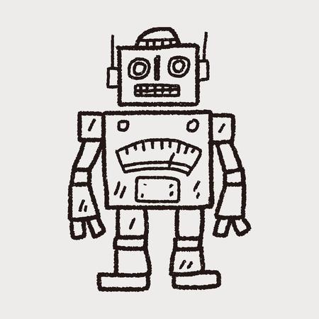 symbol robot: Doodle Robot