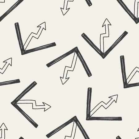 keywords  backdrop: Doodle Report form seamless pattern background Illustration