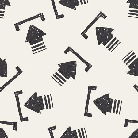 keywords backdrop: Doodle download seamless pattern background