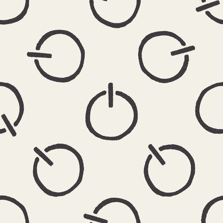 keywords backdrop: Doodle Power seamless pattern background