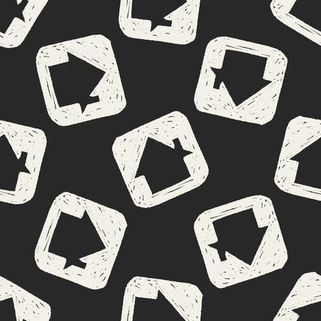keywords  backdrop: Doodle house seamless pattern background