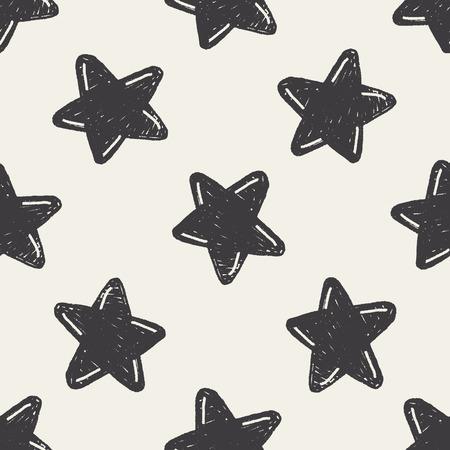 keywords  backdrop: Doodle Star seamless pattern background