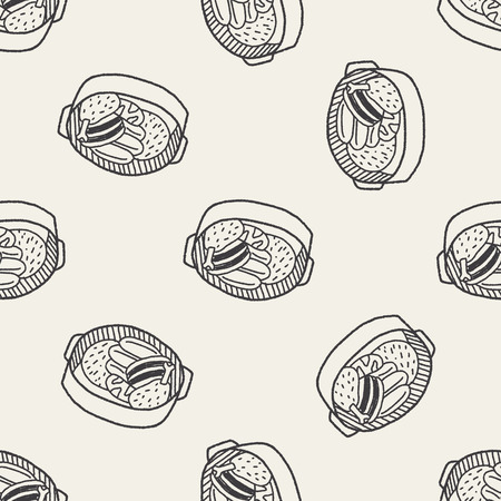 stew: Doodle Stew seamless pattern background