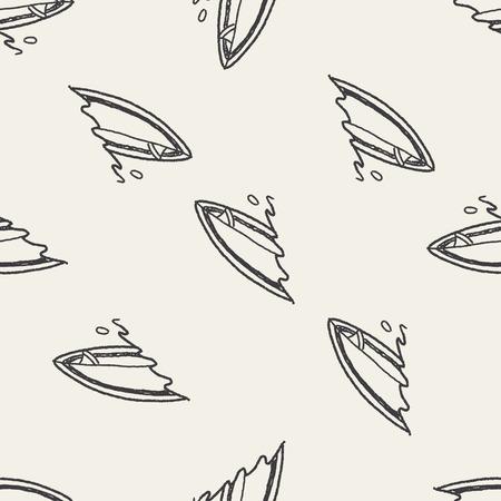 Doodle Surf de fondo sin fisuras patrón Foto de archivo - 37841473