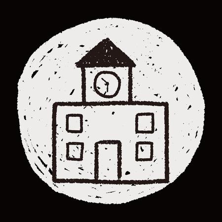 building: doodle building