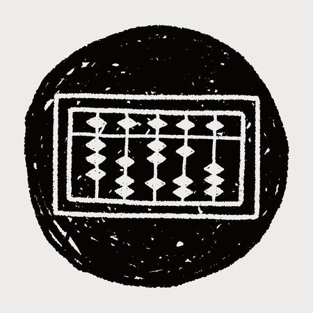 abaco: �baco garabato Vectores