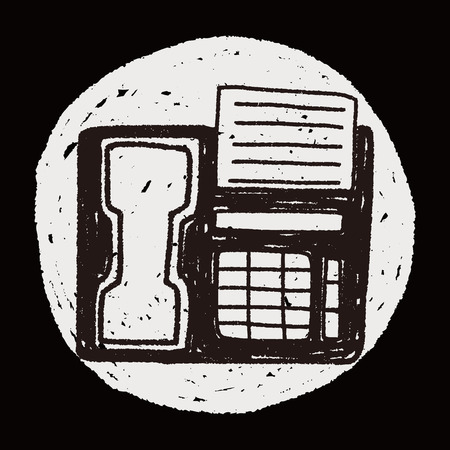 faxger�t: Doodle Fax Illustration