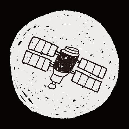 satellites: Doodle Satellites