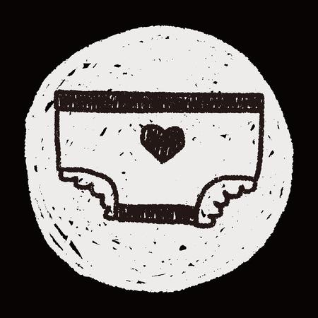 diaper: diaper doodle drawing