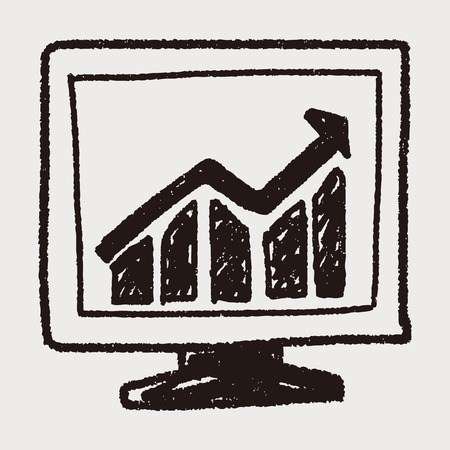 doodle screen growth Vector