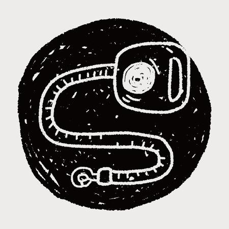collar: doodle collar rope