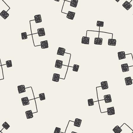 keywords  backdrop: Doodle Link seamless pattern background Illustration