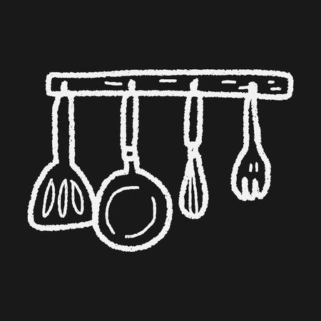 kitchen tool: kitchen tool doodle