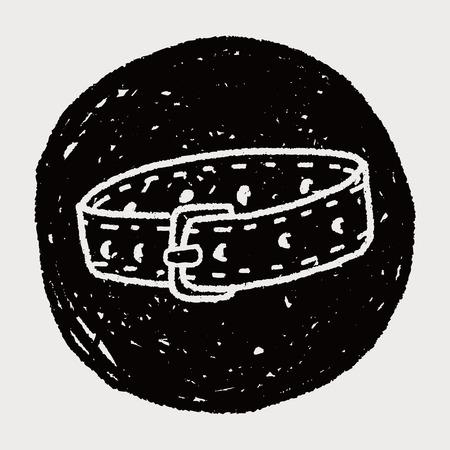 collarin: collar del animal dom�stico del doodle