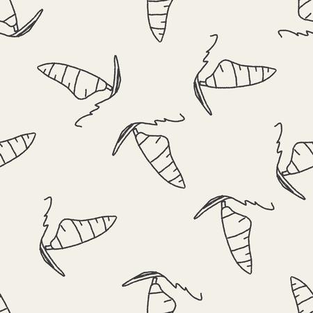 windsurf: windsurf doodle de fondo sin fisuras patr�n