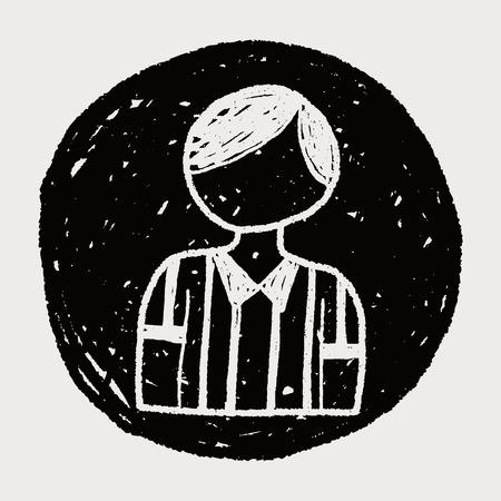 arbitro: árbitro del doodle
