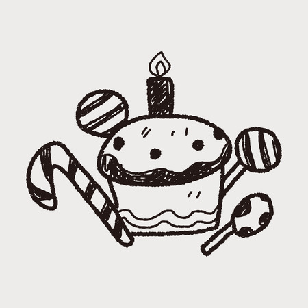 fancy pastry: doodle cake