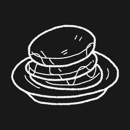 gofre: waffle garabato