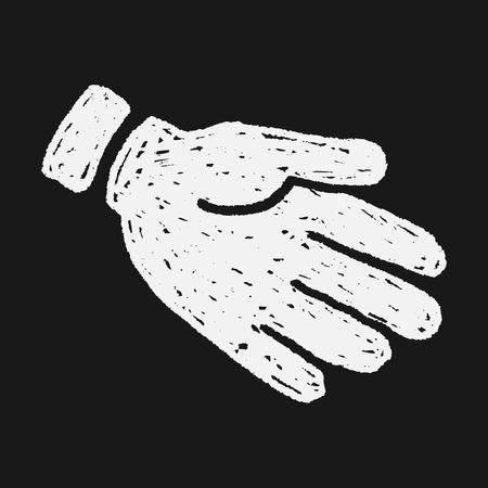 Gesture doodle Vector