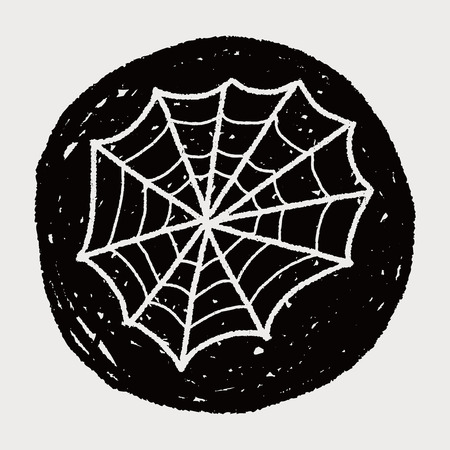 spider web: spider web doodle