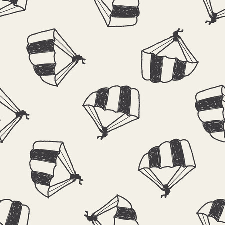 gliding: Hang gliding doodle