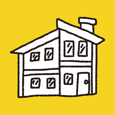 roof house: Doodle House