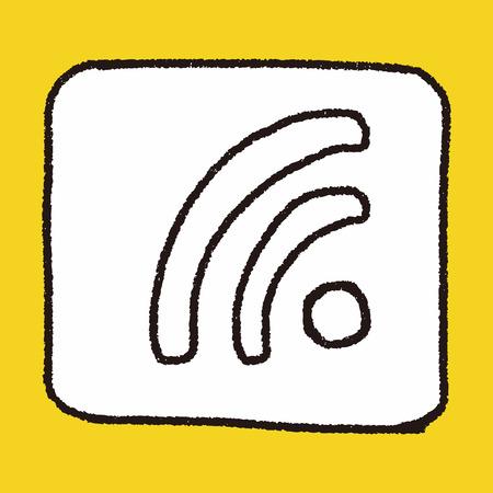 signal: Doodle Signal Illustration
