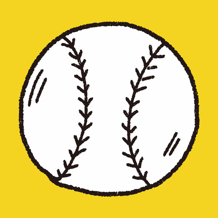fast pitch: Doodle Baseball