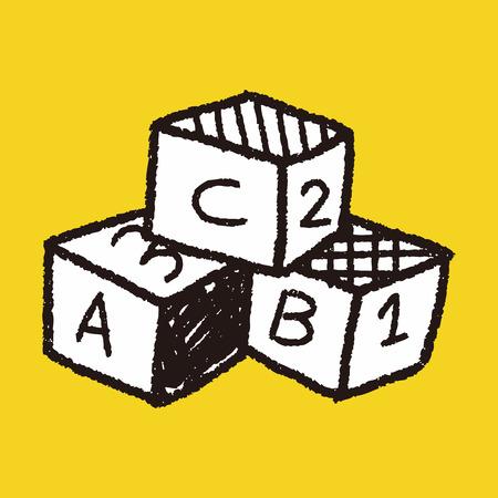 brick building: Doodle Building Blocks
