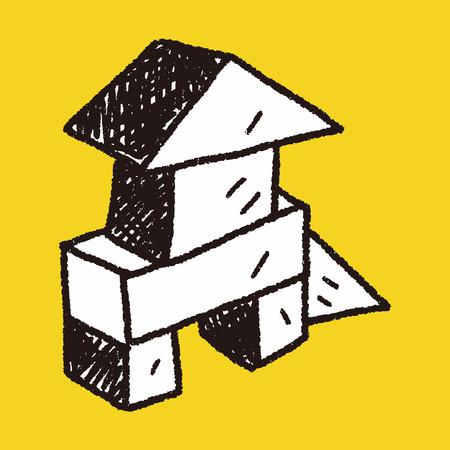 building bricks: Doodle Building Blocks