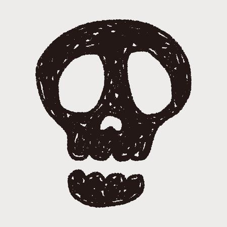 Doodle Skull Vector