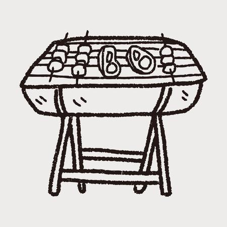 bbq doodle