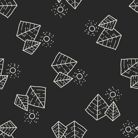 social history: doodle pyramid seamless pattern background