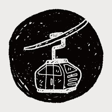 tramway: funivia Doodle
