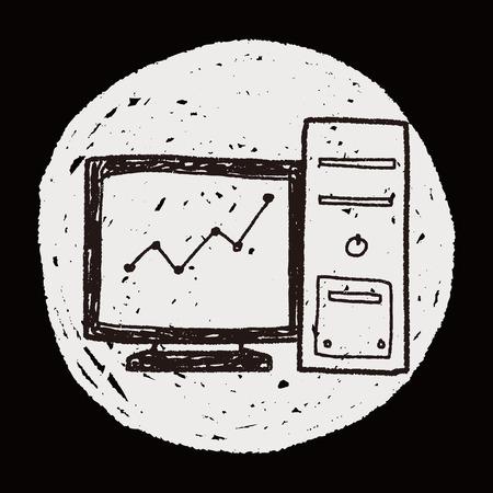 screen: screen chart doodle