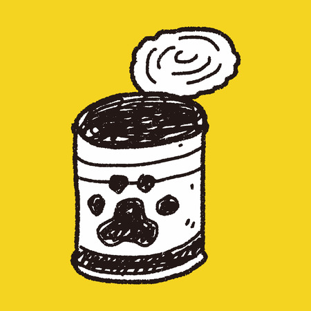can food: doodle dog food can