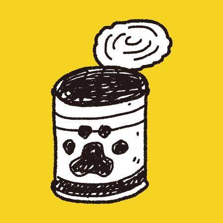 dog food: doodle dog food can