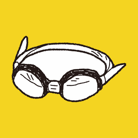 goggles: Doodle Goggles Illustration