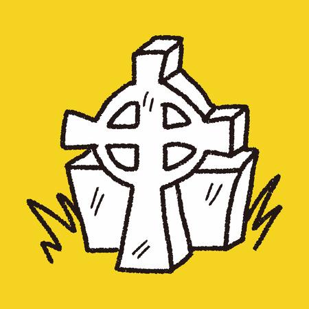 grave: grave doodle