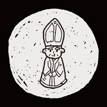 bisschop doodle