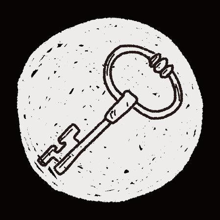 key doodle Vector