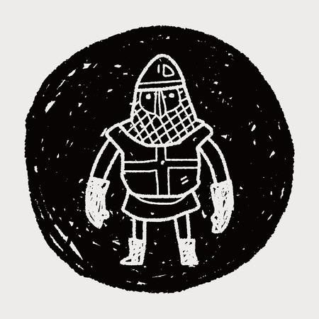 paladin: knight doodle