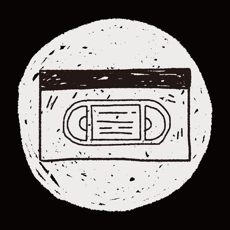 vcr: videotape doodle