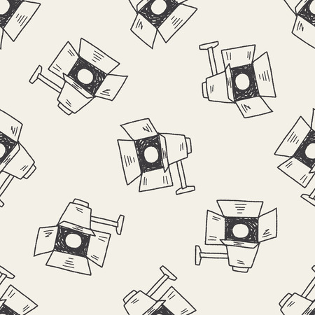 photography: Fotografie Licht doodle nahtlose Muster Hintergrund