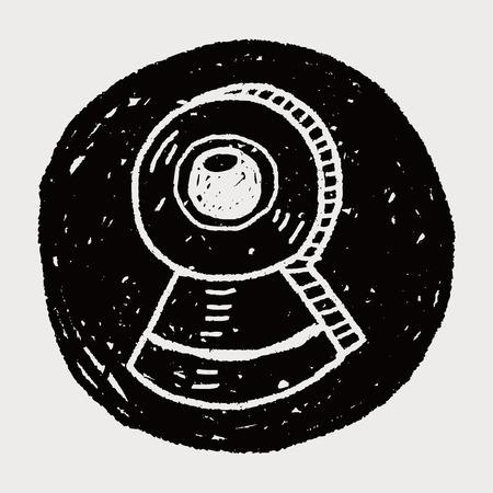 ccd camera: ccd camera doodle