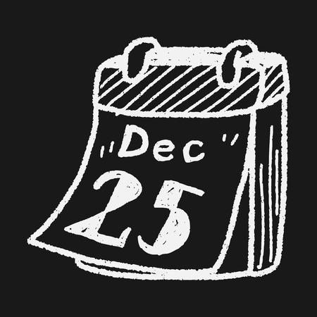 december calendar: Dicembre calendario Doodle