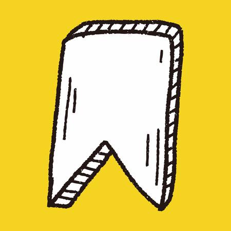 bookmark: doodle bookmark