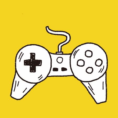 game graphics: doodle game controller